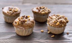 Gluten Free Banana & Walnut Muffins- Code#: BR0752