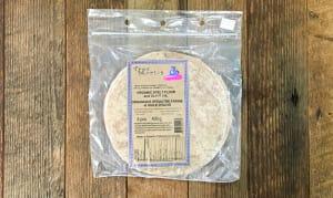8  Medium Size - 100% Spelt Tortilla- Code#: BR3015