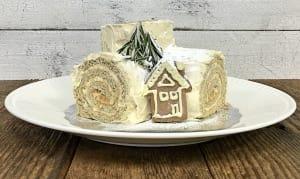 Gingerbread Yule Log- Code#: BR3122