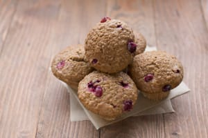 Cranberry Oatmeal Muffins- Code#: BR696