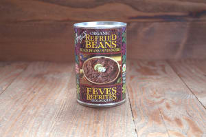 Organic Refried Black Beans- Code#: BU0108