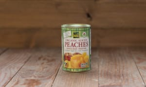 Organic Sliced Peaches- Code#: BU0402