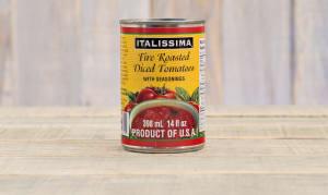 Fire Roasted Diced Tomatoes- Code#: BU282