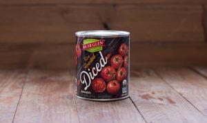 Organic Fire Roasted Diced Tomatoes- Code#: BU404