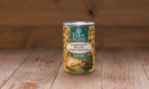 Organic Garbanzo Beans (Chickpeas)- Code#: BU432