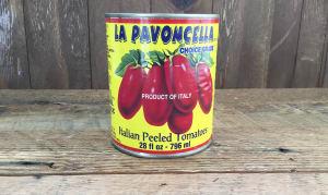 Italian Peeled Plum Tomatoes with Basil- Code#: BU8029