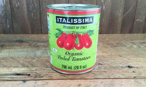 Organic Italian Peeled Plum Tomatoes- Code#: BU8031