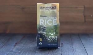 Organic Forbidden Rice- Code#: BU930
