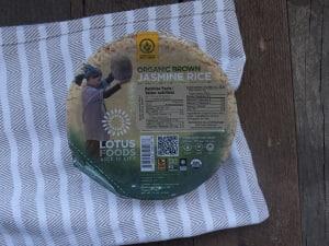 Organic Brown Jasmine Rice Bowl- Code#: BU936
