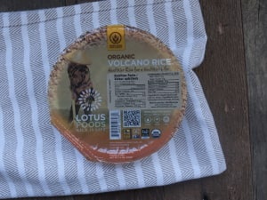 Organic Volcano Rice Bowl- Code#: BU937