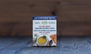 Organic Vegetable Bouillon Cubes - No Salt Added- Code#: BU944