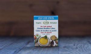 Organic Chicken Bouillon Cubes - No Salt Added- Code#: BU945