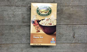 Organic Maple Nut Instant Oatmeal- Code#: CE0910