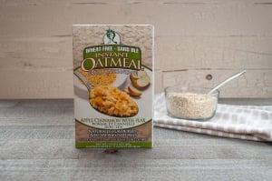 Apple Cinnamon Instant Oatmeal- Code#: CE1201