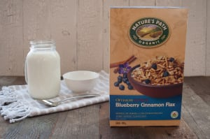 Organic Optimum Blueberry Cinnamon Flax Breakfast Cereal- Code#: CE122