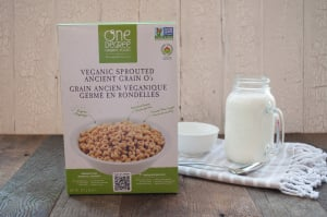 Organic Sprouted Ancient Grain O's- Code#: CE1504