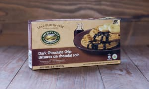 Organic Dark Chocolate Chip Waffles (Frozen)- Code#: CE329