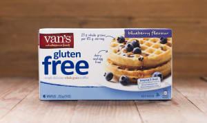 Blueberry Wheat Free Waffles (Frozen)- Code#: CE342