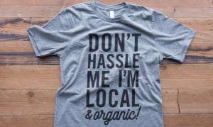 Don't Hassle Me  T-Shirt- Code#: CL001