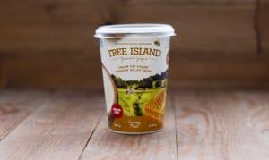Honey Cream Top Non-Homogenized, Grass Fed Yogurt - 3.5% MF- Code#: DA0371