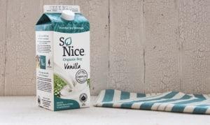 Organic Vanilla Enriched Fresh Soy Milk- Code#: DA137