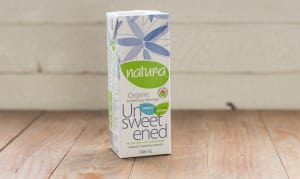 Organic Unsweetened Enriched Soy Beverage- Code#: DA208