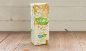 Organic Enriched Rice Beverage - Vanilla- Code#: DA213