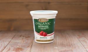 Organic Strawberry Yogurt - 2.9% MF- Code#: DA373