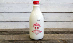 Organic 3.5% Grass-Fed Milk- Code#: DA552