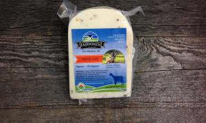 Organic Pepper Jack Goat Cheese @4.79/100g ~250g- Code#: DA8036