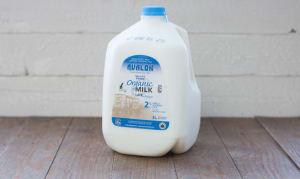 Organic 2% Milk- Code#: DA114