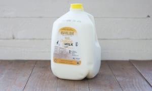 Organic 1% Milk- Code#: DA112