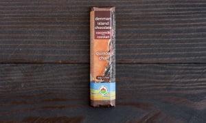 Organic Quinoa Chai Dark Chocolate Bar- Code#: DE0145