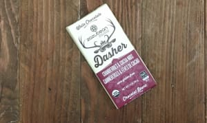 Organic Dasher - White Chocolate, Cranberries & Cocoa Nibs- Code#: DE0444