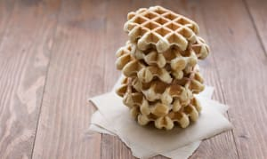 Fresh Liege Waffles - Original... 6 Waffles (550g) - Code#: DE1100