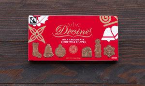 Milk Chocolate Christmas Shapes- Code#: DE1610