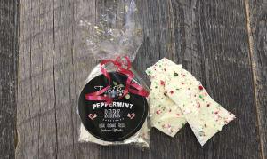 White Chocolate Peppermint Bark- Code#: DE3164