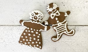 Gingerbread Men Cookies- Code#: DE3293