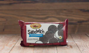 Organic Chocolate Sandwich Crème Cookie- Code#: DE362