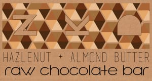 Organic Hazelnut and Almond Raw Cacoa Bar (Frozen)- Code#: DE8023