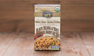 Organic Whole Grain Black Bean & Rice- Code#: DN1600