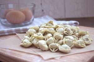 Roasted Garlic Chicken Tortellini (Made with Organic Free Range Chicken)- Code#: DN332