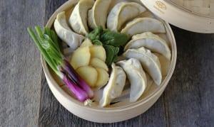 Maple Pork Quinoa Dumplings (Frozen)- Code#: DN4102