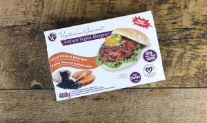 Burger Sweet Potato & Black Bean (Frozen)- Code#: DN757