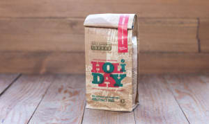 Organic Holiday Blend Medium-Dark Coffee, Whole Bean- Code#: DR191
