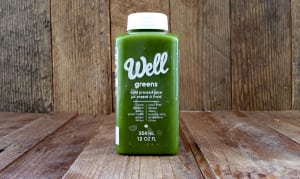 Well Greens Cold Pressed Juice- Code#: DR3050