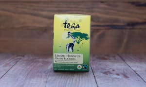 Organic Lemon Hibiscus Green Rooibos Tea- Code#: DR362