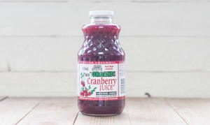 Organic Pure Cranberry Juice- Code#: DR373