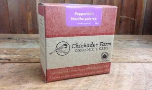 Organic Peppermint Tea- Code#: DR8020