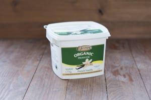 Organic French Vanilla Yogurt Pail - 3.5% MF- Code#: DY701